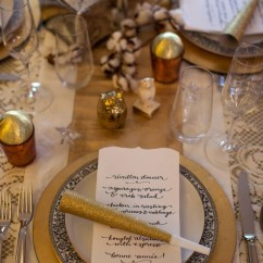 event planning - réveillon dinner - courtney apple photography