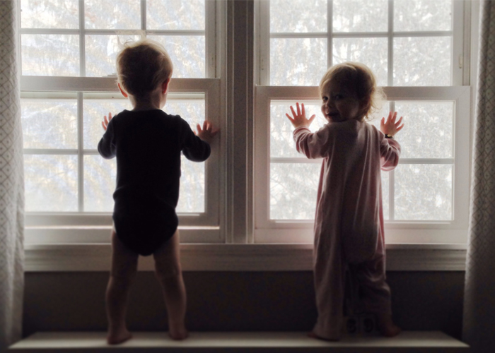 twins-first-snow