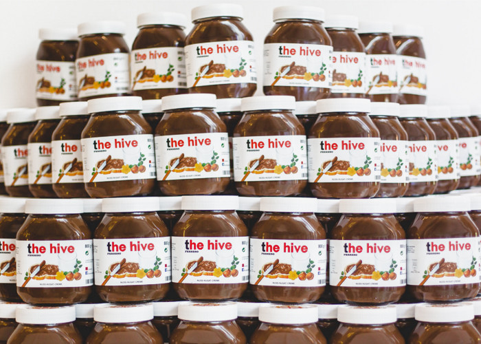 the-hive-nutella-jars